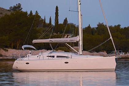 Elan Impression 384 (code:NCP1) - Sibenik - Czarter statki Chorwacja