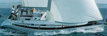 Elan 340( code :WPO71) - Murter - Charter ships Croatia