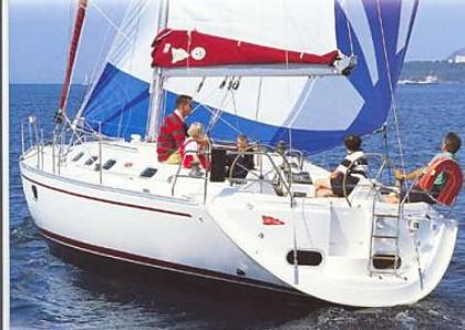 Dufour Gib Sea 43 (code:JAD5) - Mali Losinj - Charter ships Croatia