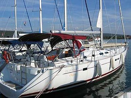 Oceanis 473 (code:TOR 2) - Zadar - Charter plovila Hrvatska