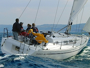 Elan 333 (code:TOR 14) - Zadar - Czarter statki Chorwacja