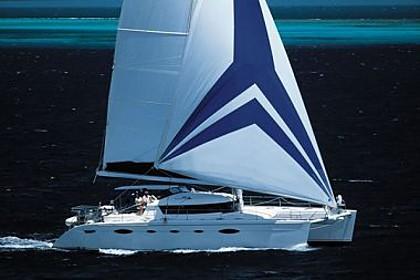 Catamaran Eleuthera 60 (code: ANK 1) - Sibenik - Charter boten Kroatië