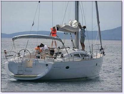 Elan 434 Impression (code:ANK 7) - Sibenik - Charter ships Croatia