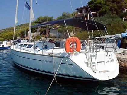 Jeanneau SO 40,3 (code:ANK 10) - Sibenik - Czarter statki Chorwacja