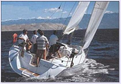 Y 999 Team (code:ANK 18) - Sibenik - Charter boten Kroatië