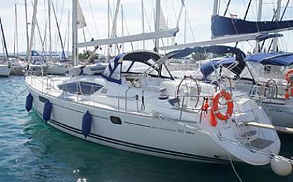 Sun Odyssey 50 DS (code:INT 7) - Sukošan - Charter plavidlá Chorvátsko
