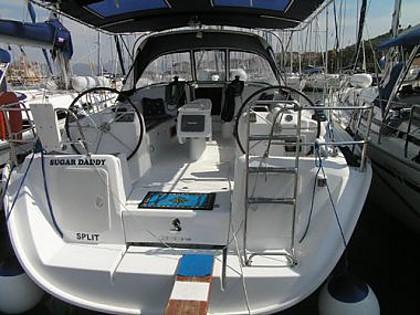 Cyclades 43,4 (code:DAC 7) - Trogir - Charter Boote Kroatien