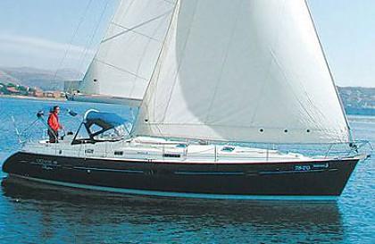 Oceanis 411 (code:DAC 10) - Trogir - Charter hajókHorvátország