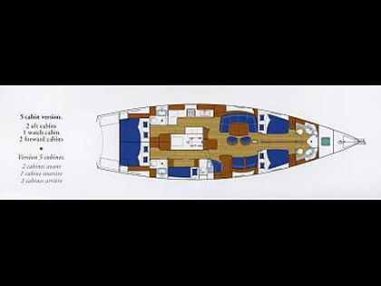 Beneteau 57 (CBM Realtime) - Šibenik - Charter plovila Hrvatska