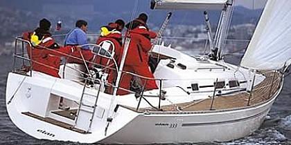 Elan 333 (code:NAV 61) - Sukosan - Charter boten Kroatië