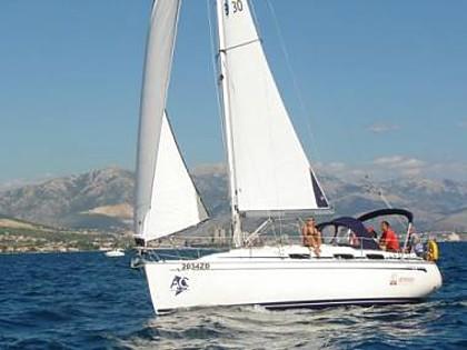Bavaria 30 Cruiser (CBM Realtime) - Pirovac - Charter Boote Kroatien