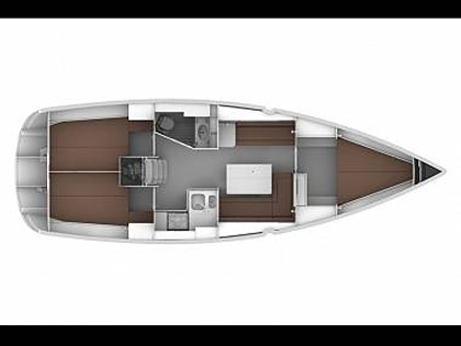 Bavaria Cruiser 36 (CBM Realtime) - Sukošan - Charter plovila Hrvaška