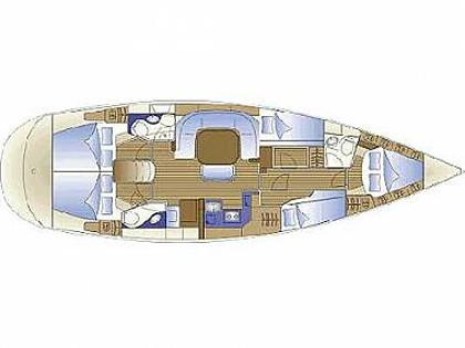 Bavaria 49 (CBM Realtime) - Sukošan - Charter plovila Hrvaška
