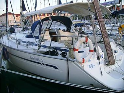 Bavaria 36 Cruiser (CBM Realtime) - Trogir - Charter plavidla Chorvatsko
