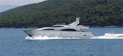 Azimut Jumbo 100 (code: MGM1) - Kastel Gomilica - Charter hajókHorvátország