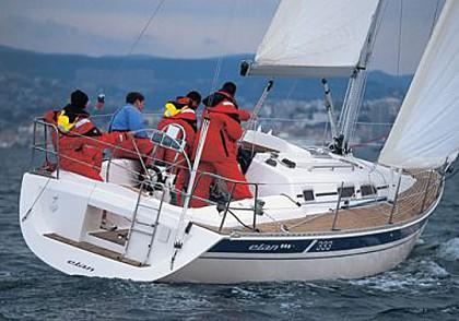 Elan 333 (code:ELA 23) - Biograd - Charter plovila Hrvatska