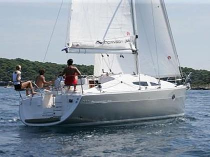 Elan Impression 344 (code:ELA 17) - Sukosan - Charter navi Croazia