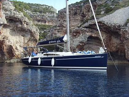 Elan 410 (CBM Realtime) - Kastel Gomilica - Charter plavidlá Chorvátsko