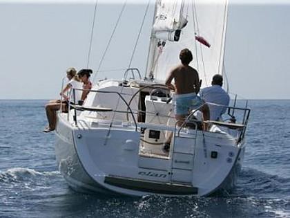 Elan Impression 344 (code:ELA 31) - Biograd - Czarter statki Chorwacja