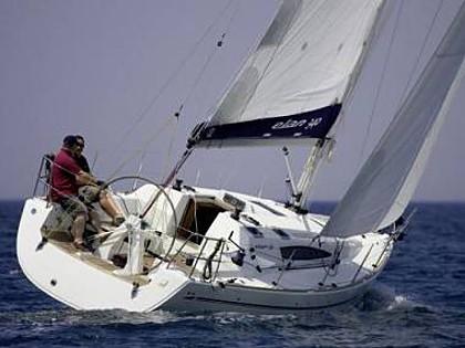 Elan 350 (code:ELA 33) - Biograd - Charter plovila Hrvatska