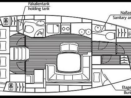 Bavaria 44 (CBM Realtime) - Kastel Gomilica - Charter ships Croatia