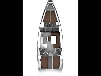 Bavaria 46 Cruiser (CBM Realtime) - Murter - Charter embarcation Croatie