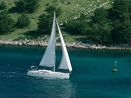 Elan Impression 434 (code:ELA 42) - Kastel Gomilica - Charter hajókHorvátország