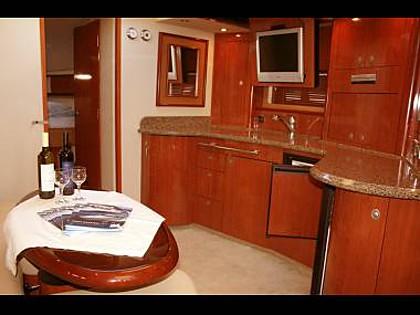 Sea Ray 455 (CBM Realtime) - Sibenik - Charter ships Croatia