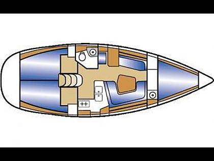 Sun Odyssey 36.2 (CBM Realtime) - Zadar - Charter hajókHorvátország