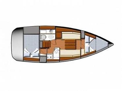 Sun Odyssey 30i (CBM Realtime) - Vodice - Charter plavidlá Chorvátsko