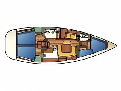 Sun Odyssey 43  (CBM Realtime) - Vodice - Charter ships Croatia