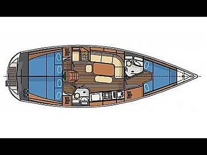 Delphia 40 (CBM Realtime) - Sibenik - Charter navi Croazia