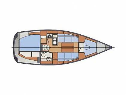 Delphia 31 (CBM Realtime) - Sibenik - Charter embarcation Croatie