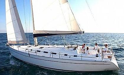 Cyclades 50,4 (code:DCH 3) - Primosten - Charter Boote Kroatien