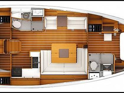 Sun Odyssey 439 (CBM Realtime) - Kastel Gomilica - Charter Boote Kroatien