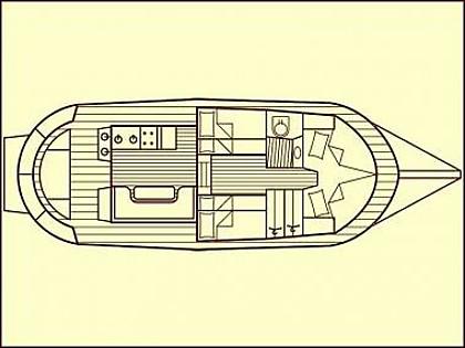Classic Adria Yacht Tiho (CBM Realtime) - Zadar - Charter boten Kroatië