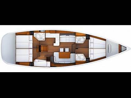 Jeanneau 53 (CBM Realtime) - Dubrovnik - Charter boten Kroatië