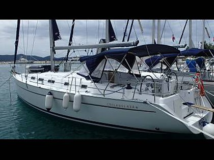 Cyclades 43.4 (CBM Realtime) - Sukosan - Charter Boote Kroatien