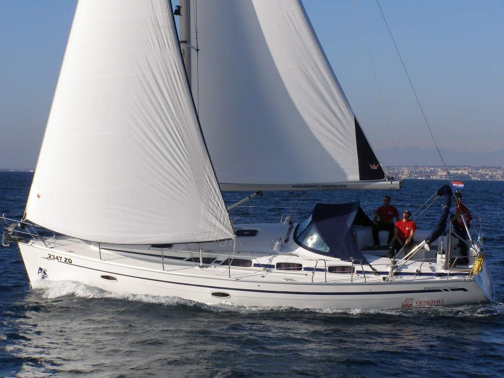 Bavaria 40 Cruiser (CBM Realtime) - Sukosan - Charter ships Croatia