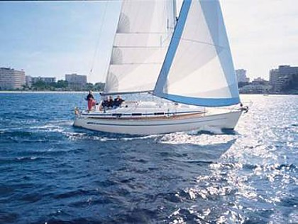 Bavaria 36 (CBM Realtime) - Zadar - Charter ships Croatia