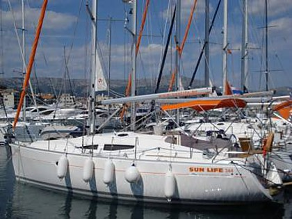 Elan 344 Impression (CBM Realtime) - Split - Charter navi Croazia