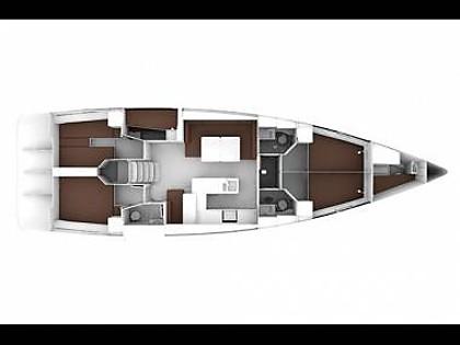 Bavaria Cruiser 56 (CBM Realtime) - Kastel Gomilica - Charter plovila Hrvaška