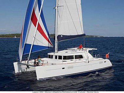 Lagoon 440 (CBM Realtime) - Sukosan - Charter ships Croatia