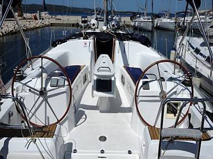 Cyclades 43.4 (CBM Realtime) - Biograd - Charter ships Croatia