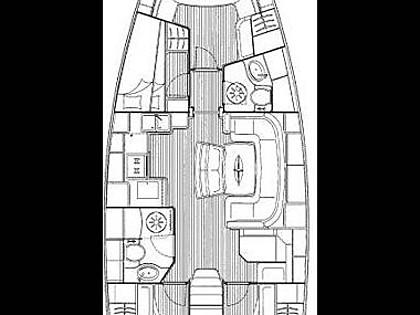 Bavaria 38 Cruiser (CBM Realtime) - Трогир - Чартер ХорватияХорватия