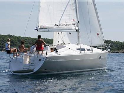 Elan 344 Impression (CBM Realtime) - Betina - Charter hajókHorvátország