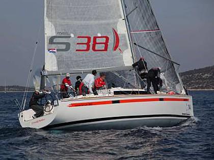 Salona 38 (CBM Realtime) - Primosten - Charter boten Kroatië