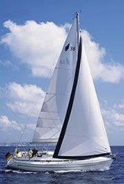 Bavaria 38 Cruiser (code:NAU 36) - Split - Charter Boote Kroatien