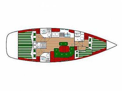 Oceanis 423 (CBM Realtime) - Dubrovnik - Charter plavidlá Chorvátsko