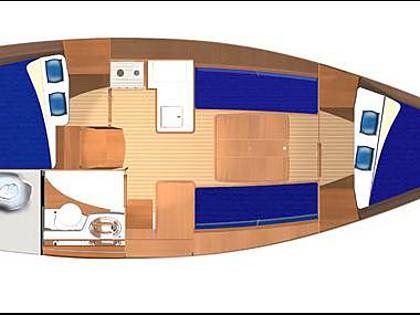 Dufour 325 (CBM Realtime) - Rogoznica - Charter plovila Hrvatska